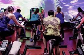 spin cl true fitness studio bike cycling
