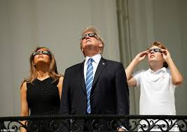 Image result for America witnesses it's first solar eclipse in 99 years .