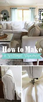 how to make a sectional slipcover sectional slipcoverfurniture