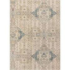 campo magnolia beige vintage abstract geometric 8 ft 9 in x 12 ft