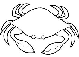 Crabe 38 Animaux Coloriages Imprimer