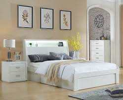 chicago bedroom furniture. Wonderful Furniture DOUBLE CHICAGO SIDE GAS LIFT BED WITH END DRAWER LS120 D In Chicago Bedroom Furniture A