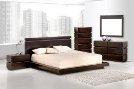 contemporary wood bedroom furniture and modern wood bed image