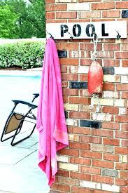 outdoor pool towel rack poolside towel rack pool towel holder appealing pool towel rack good pipe outdoor pool towel rack