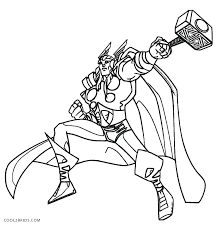 Black Widow Avengers Coloring Pages Marvel Characters Printable For