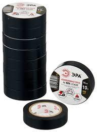 Набор <b>изоленты ЭРА ПВХ</b> 15 мм х 10 м 10 шт. — купить по ...