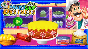 Fun Business Games Fun Kids Cake Making Bakery Shop Business Game Home Play Learn