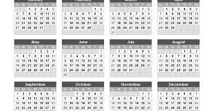 Calendar Year 2019 Printable Editable Calendar 2019 Free Printable 2019 Calendar Templates
