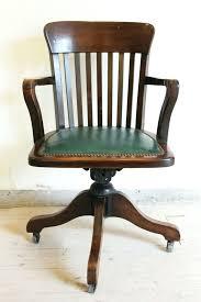 desk wooden desk chair parts antique 1920 1930s swivel office chair bankers chair captians chair