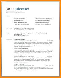 Resumes On Microsoft Word Magnificent Sample Resume Microsoft Word Free Resume Template Evacassidyme