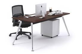 chrome office desk. san fran executive office desk chrome leg 1200l x 800w s