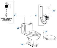 antiquity cadet 3 toilet repair parts