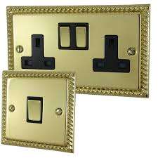 Click Light Switches Sockets Georgian
