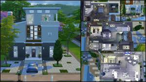 the sims 3 modern house floor plans for sims houses blueprints