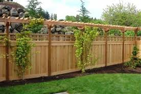 Small Picture Garden Fence Ideas Garden Design Ideas