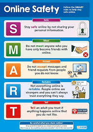 School Safety Rules Chart Amazon Com Online Safety Online Safety Posters Gloss