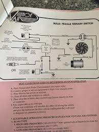 vintage air wiring diagram cooling fan wire center \u2022 Auto AC Wiring Diagram Heater Ac Trinary Switch Wiring Diagram #24