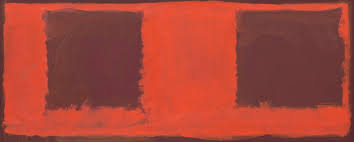 artist mark rothko untitled seagram mural sketch 1959 oil and mixed