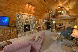 ... Rustic 3 Bedroom Cabin With Stone Fireplace   Big Bear ...