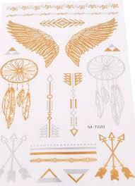 Metalické Sada Lapače Snů Andělská Křídla