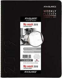 At A Glance Monthly Planner 2019 At A Glance Weekly Monthly Appointment Book Planner 2019 8 25 X