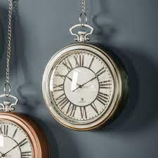 hanging wall clock nickel