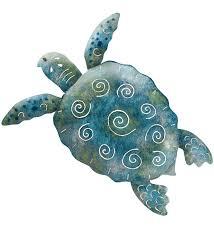 sea turtle wall decor large