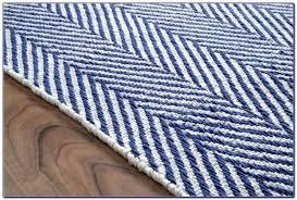 blue and white striped runner rug sevenstonesinc com