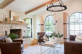 Living rooms with brown furniture Yellow Hgtvcom Top Living Room Colors And Paint Ideas Hgtv