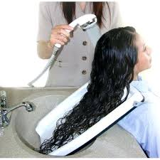hair washing sink 1 hair washing tray for home or salon use with chair or wheel