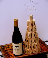 How To Decorate A Wine Bottle For Christmas Wine Cork Christmas Decor 56