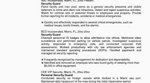 Security Guard Resume Resume Format For Security Officer Awesome Resume Best Security 51