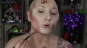 trypophobia zombie nurse costume makeup tutorial