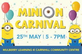 minion party carnival cairnhill