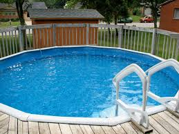 image of above ground pool deck ideas pictures
