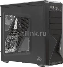 <b>Корпус ATX</b> ZALMAN Z9 Plus, <b>Midi-Tower</b>, без БП, черный