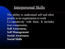 interpersonal savvy interpersonal skills