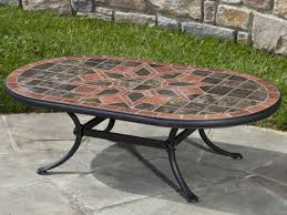 mosaic coffee table outdoor outdoor coffee table ikea large