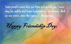 Happy Quotes About Friendship Magnificent Happy Friendship Day Quotes Greetings And Messages