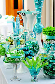 Blue And Green Decor A Turquoise And Lime Green Wedding Wedding Decoration Read