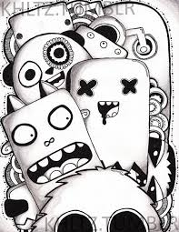 2000x2585 4 photos of the doodle cute monsters