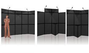 Presentation Display Stands Folding Panel Displays Trade Show Display Boards Presentation 2
