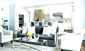 gray couch decor