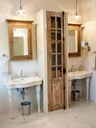 vintage bathroom pedestal sinks. Vintage Bathroom - Pedestal Sinks Used In A Design.