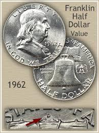 1962 Franklin Half Dollar Value Discover Their Worth