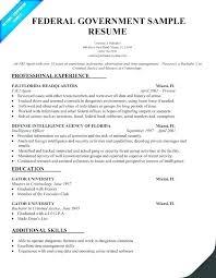 Resume For Federal Jobs Noxdefense Com