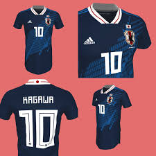 Best Football Jersey Design 2018 Two Stunning Adidas Japan 2018 Concept Kits By La Casaca