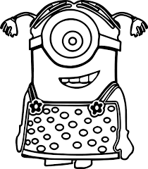 Small Picture minion coloring pages pdf Archives Best Coloring Page