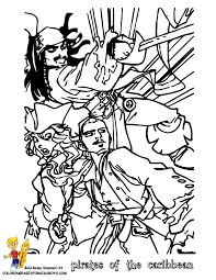 Small Picture Pirates of the Caribbean coloring pages colouring pictures