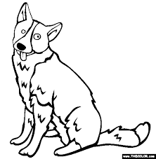 Dogs Online Coloring Pages Page 1